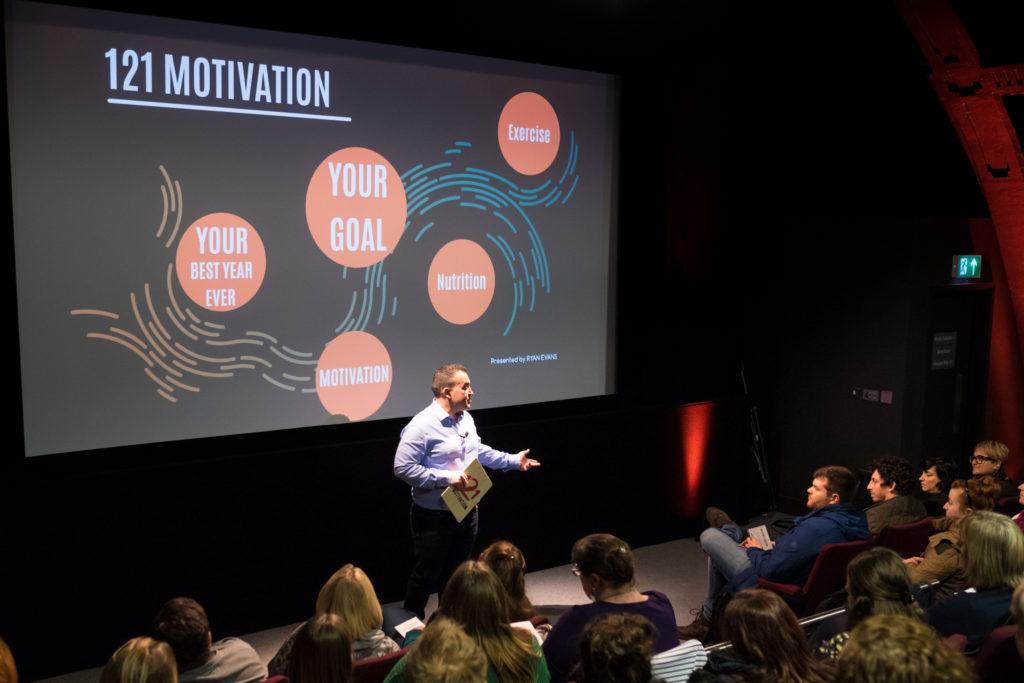Motivational talker Ryan Evans Cardiff